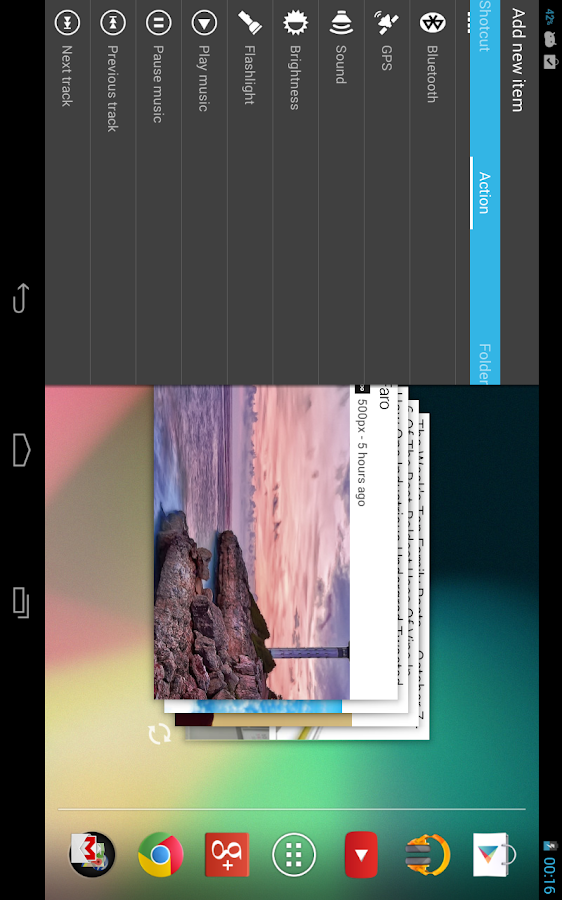 Ray Pro Sidebar Launcher- screenshot