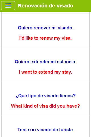 Learn Spanish - screenshot