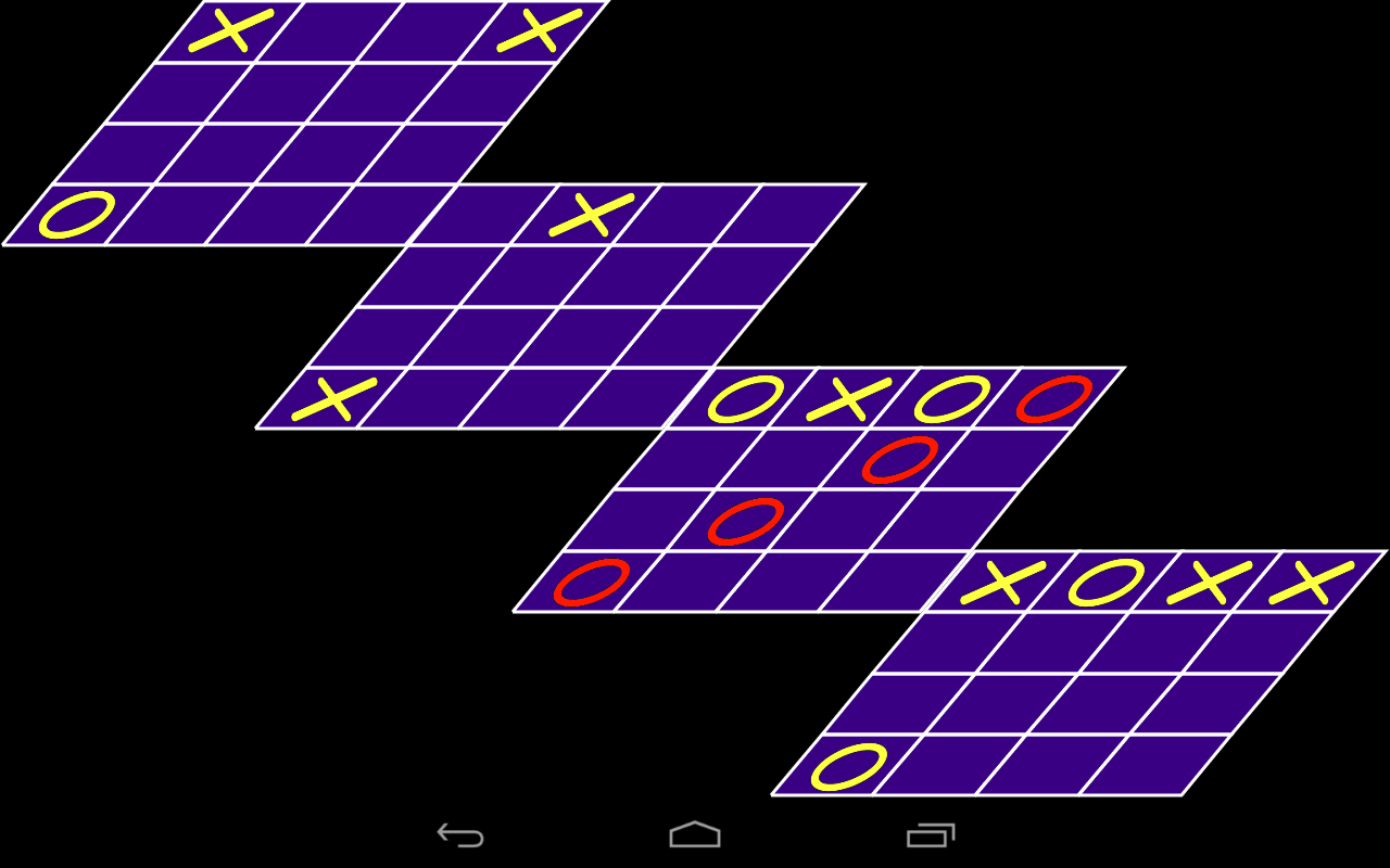 Tic Tac Toe 3D - HD- screenshot