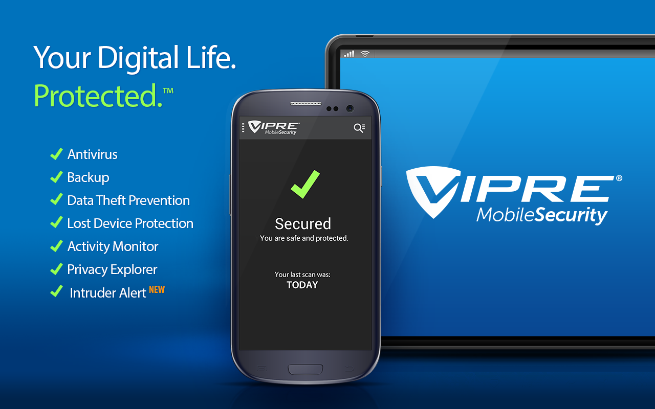 VIPRE mobile security - best antivirus for android user