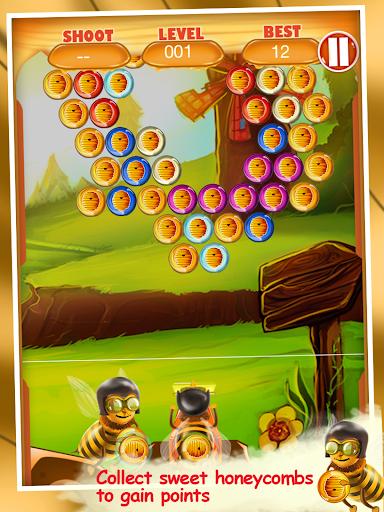 蜜蜂泡泡射擊|玩休閒App免費|玩APPs