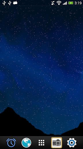 Night Sky LiveWallpaper