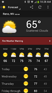 myWeather - screenshot thumbnail
