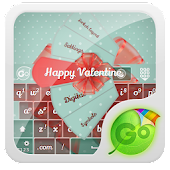Happy Valentine GO Keyboard