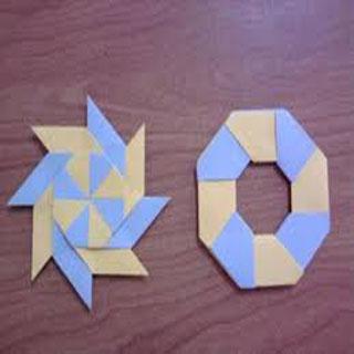 紙忍者の星にする方法