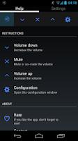Screenshot of TrayVolume volume notification