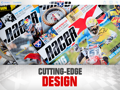 Racer X Illustrated magazine- screenshot thumbnail