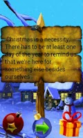 Screenshot of Christmas and New Year Quotes