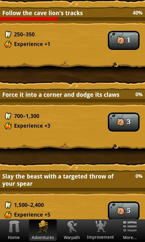 Stone Age Game - screenshot