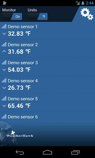WeatherHawk MyBlue-T Monitor
