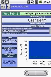 Synchrotron Status- screenshot thumbnail