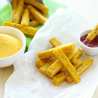 Baked Polenta Chips / Fries.