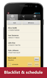 Blacklist Plus - Call Blocker - screenshot thumbnail