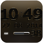 Digi Clock Widget Vigueur icon