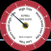 Elfmill Tide Clock FREE