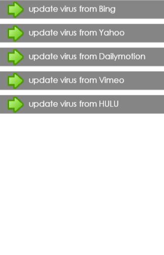 update virus