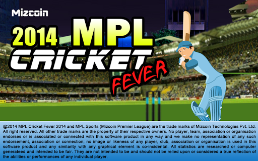 MPL Cricket Fever Game 2014