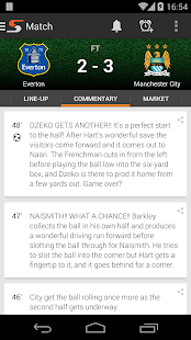 Super Scores - Football Scores- screenshot thumbnail