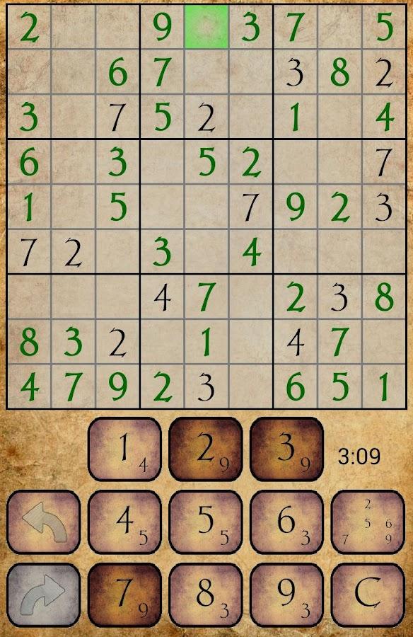 Sudoku PRO- screenshot