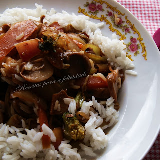 Thai Vegetables with Jasmine Rice.