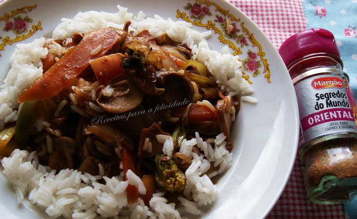 Thai Vegetables with Jasmine Rice Recipe