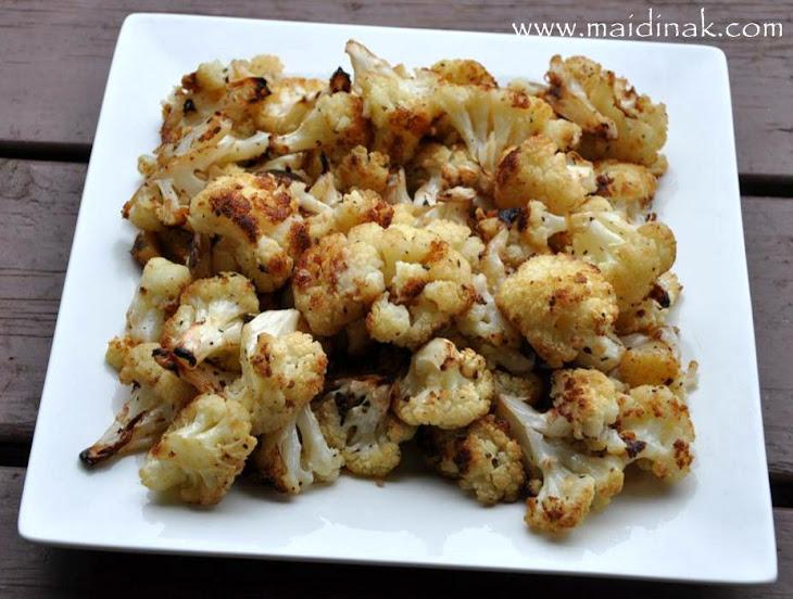 Garlic Lover's Roasted Cauliflower
