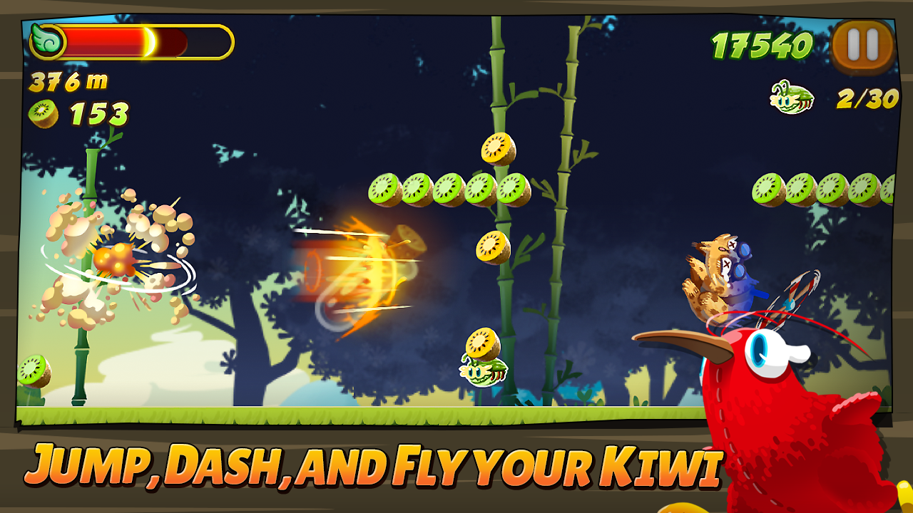 Kiwi Dash- screenshot