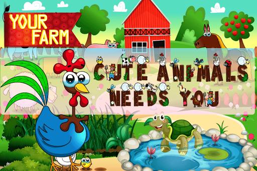 可爱动物的差异游戏