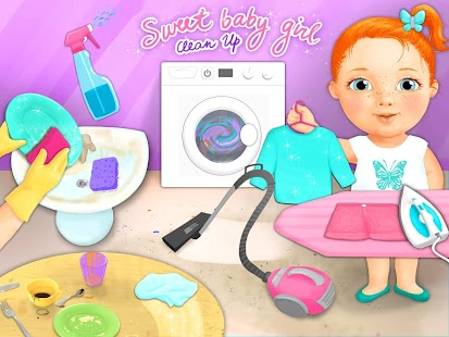 Sweet Baby Girl - Clean Up
