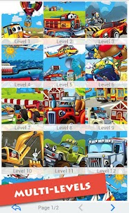 Cartoon Vehicles For Kids