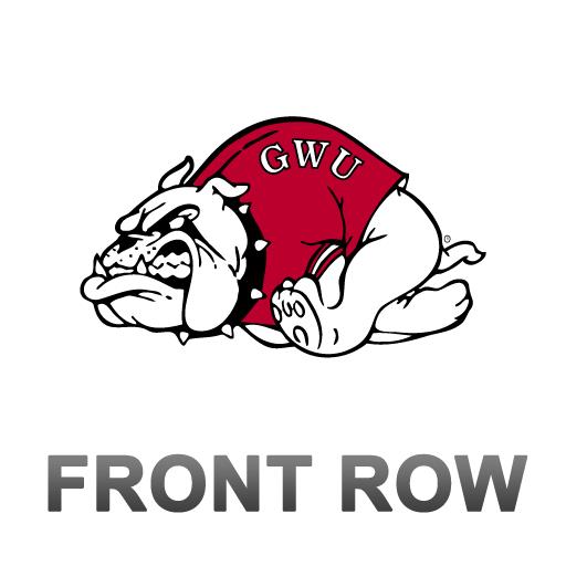GWU Bulldogs Front Row