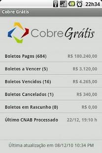 Cobre Grátis- screenshot thumbnail