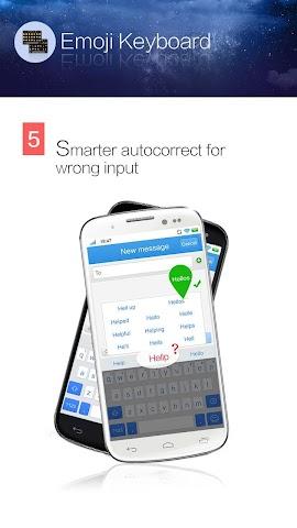 android Kika Emoji Keyboard - GIF Spaß Screenshot 4