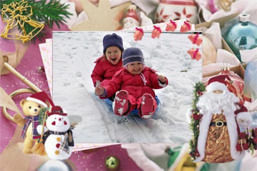 Insta Christmas Photo Frames