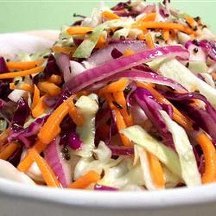 Coleslaw with Hot Caraway Vinaigrette Recipe