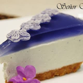 Violet Candy Cheesecake.