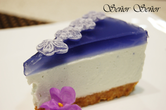 Violet Candy Cheesecake Recipe