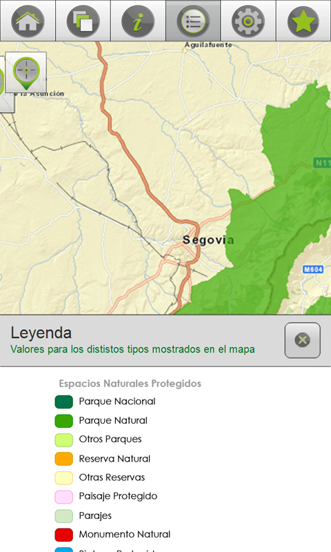 Naturaleza MAPAMA- screenshot