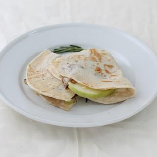 Easy Appetizer   Brie Quesadillas