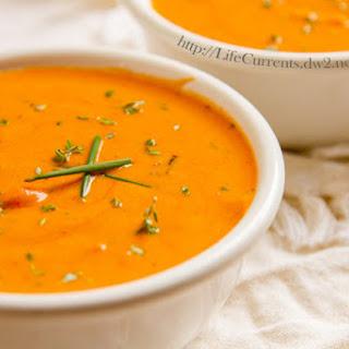 Tomato Parmesan Slow Cooker Soup.