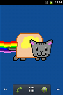 Nyan cat Live Wallpaper - screenshot thumbnail