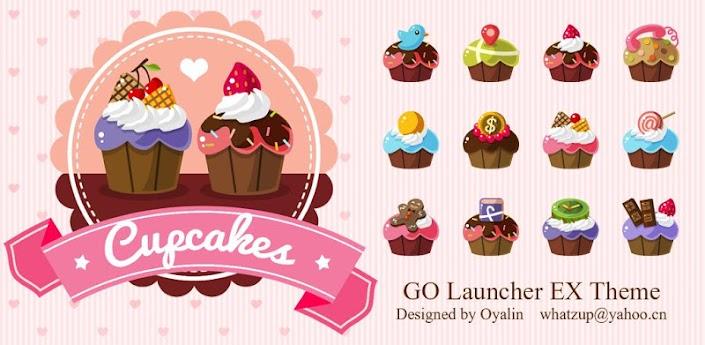 Cupcakes_GO Launcher Theme