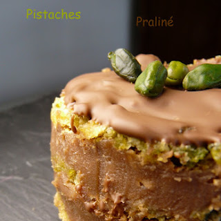 Chocolate-Pistachio Dacquoises