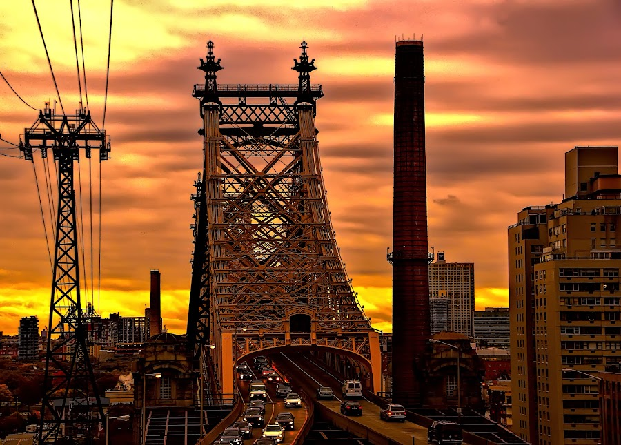 new york by Christian Heitz - Buildings & Architecture Bridges & Suspended Structures