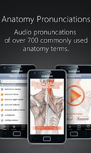 Anatomy Pronunciations- screenshot thumbnail