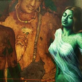 Art by Anup Kumar Adhikari - Painting All Painting