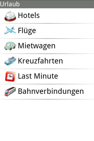 Urlaub- screenshot