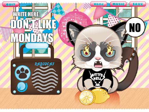 Grumpy Kitty - DressUp