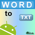 Word To TXT logo