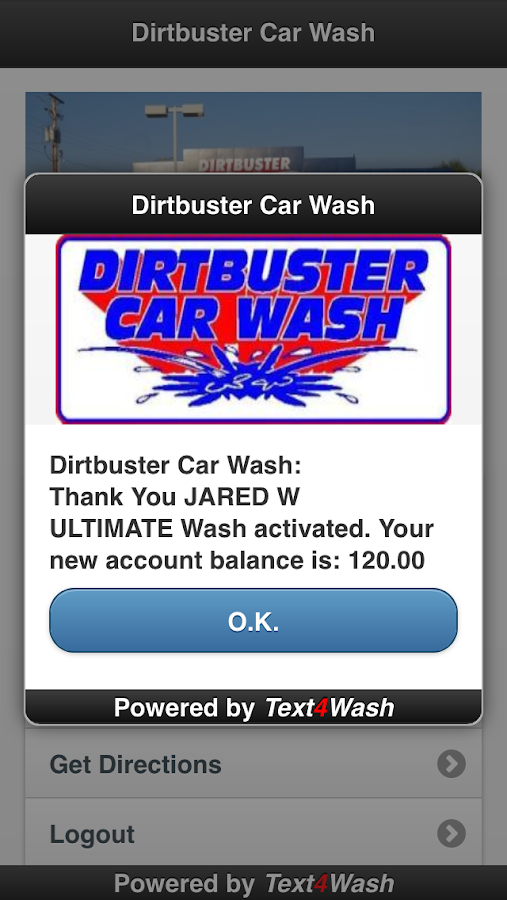 Dirtbuster Car Wash- screenshot